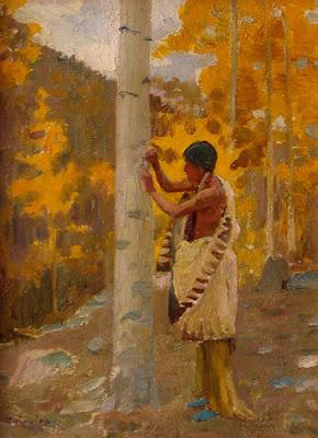 """Carving the Tribal Emblem"""
