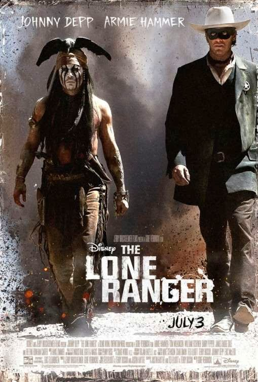 Poster Of The Lone Ranger (2013) Full Movie Hindi Dubbed Free Download Watch Online At Alldownloads4u.Com
