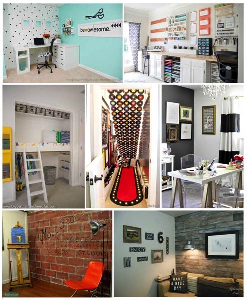 Craft rooms play rooms and offices of 2015