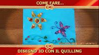Disegno 3D in Filigrana di Carta