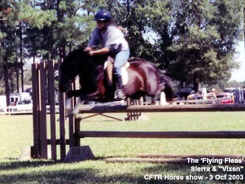 CFTR Horse Show - Sierra & Vixen