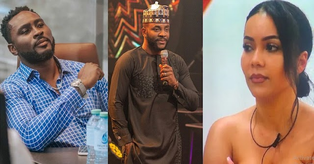 #BBNaija2021: Maria and Pere are the Wild Cards; they could be evicted this Sunday only if