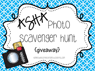 ASHA Photo Scavenger Hunt and Giveaway image
