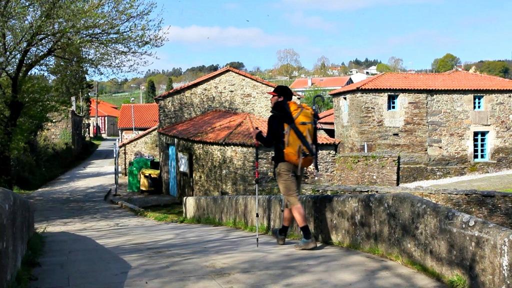 Un peregrino por el Camino Primitivo en Asturias