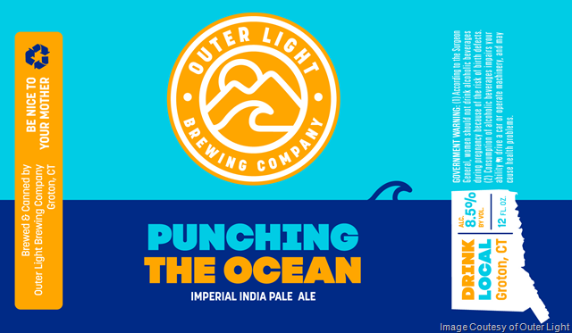 Outer Light Brewing Releasing Punching the Ocean DIPA