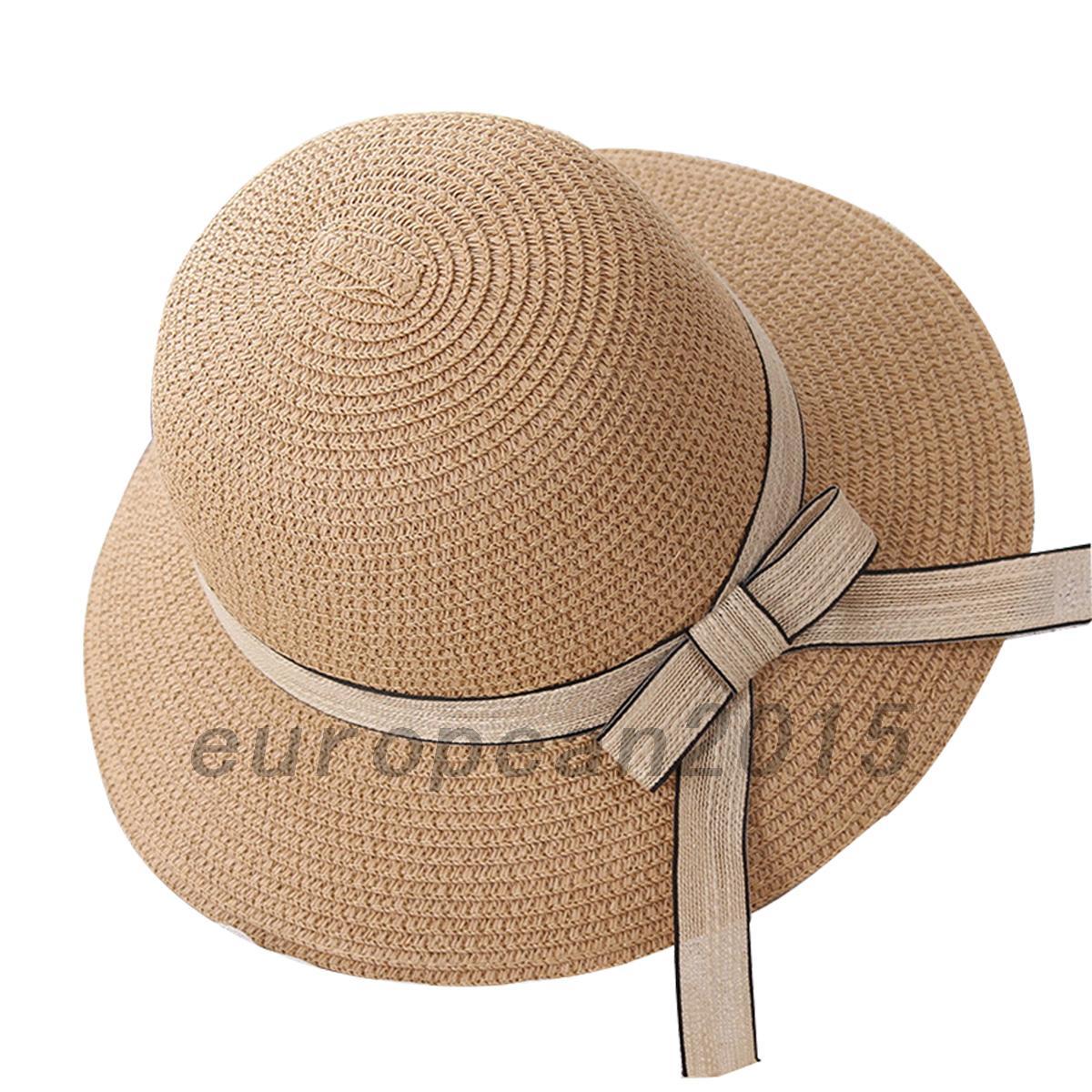 femme capeline pliable chapeau de soleil r glable large bord visi re et plage. Black Bedroom Furniture Sets. Home Design Ideas