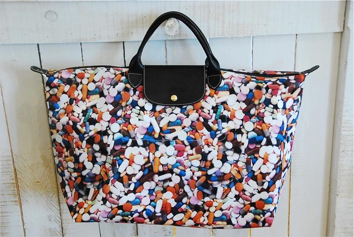 Online Discount Portable Longchamp Darshan Handbags White Yellow