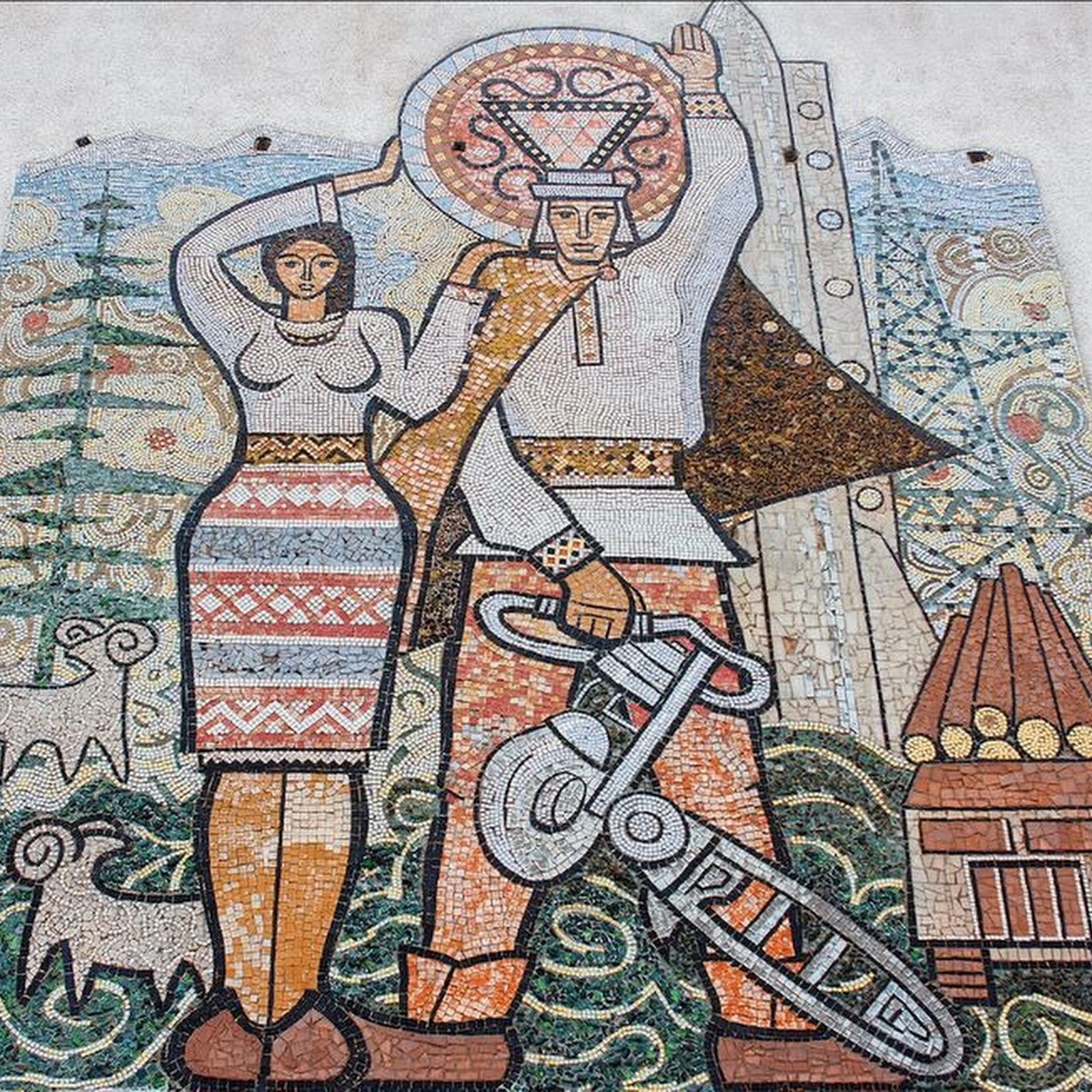 The Forgotten Soviet-Era Murals