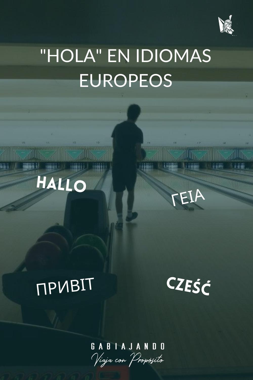 Como se dice hola en diferentes idiomas europeos