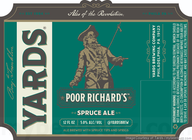 Yards Updating Poor Richard's Spruce Ale