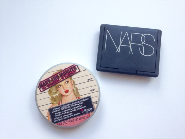 Nars Orgasm Blush & The Balm Mary-Lou Manizer