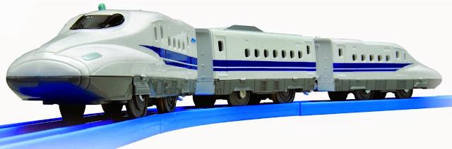 Bộ Tầu hỏa S-11 Series N700 Shinkansen có âm thanh mô phỏng giống với thực tế