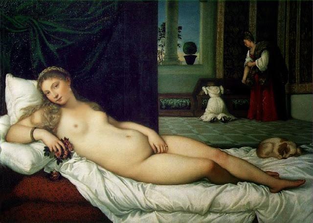 Algargos Arte E Historia La Venus De Urbino De Tiziano El Desnudo