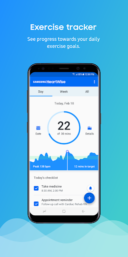 Samsung HeartWise 2.3.10041 screenshots 1