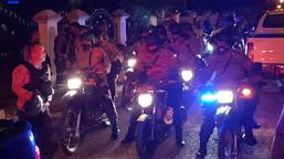 Polisi Gelar Patroli Bersekala Besar Jaga Kantibmas Jelang Pilkada Serentak