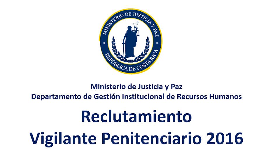RECLUTAMIENTO PARA VIGILANTES PENITENCIARIOS