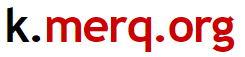 Logo k.merq.org