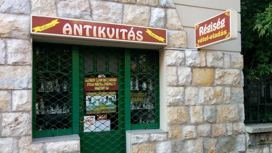 Williams Antikvitás - Régiségbolt itt  Budapest e179093e11