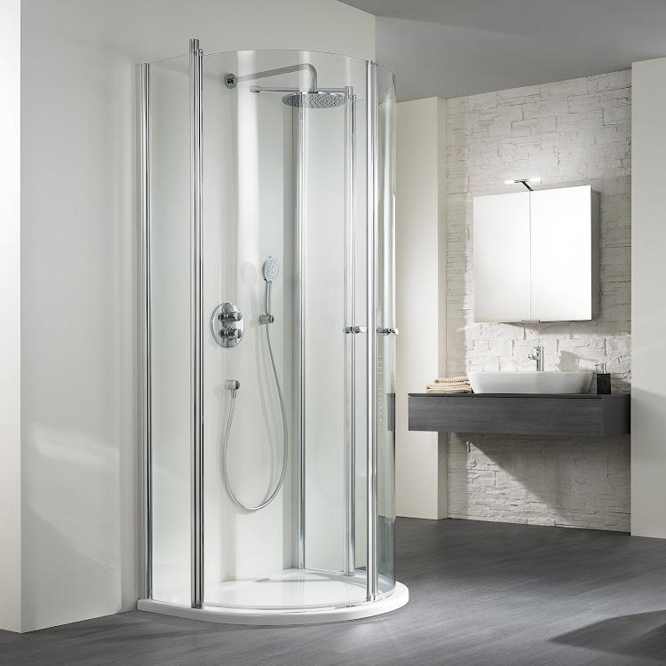 Shower Cabins_02 Ecklusiv Runddusche Halbkreis