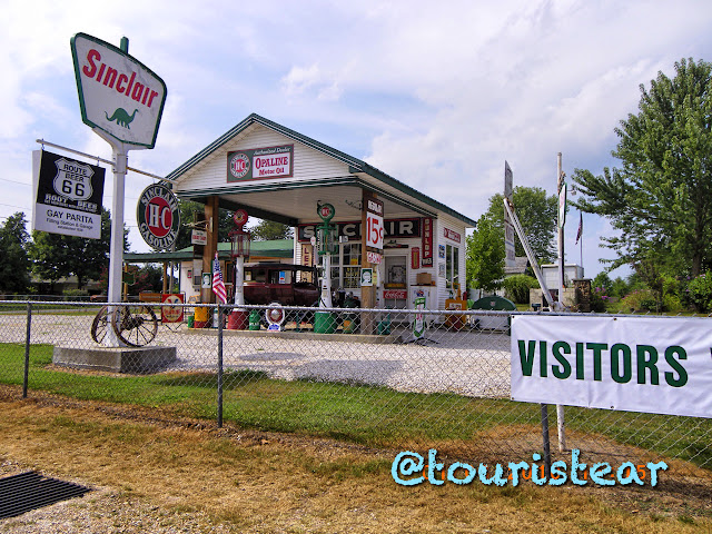Bristow - Springfield. Route 66