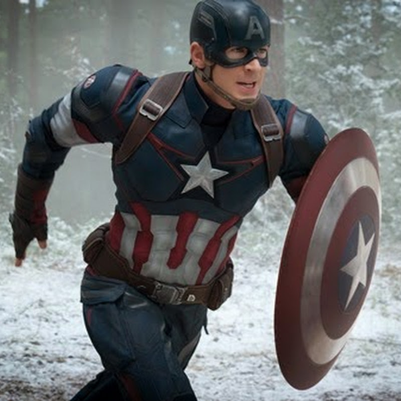 "Captain America Commands the ""Avengers"" in Epic Sequel (Opens Apr 22)"