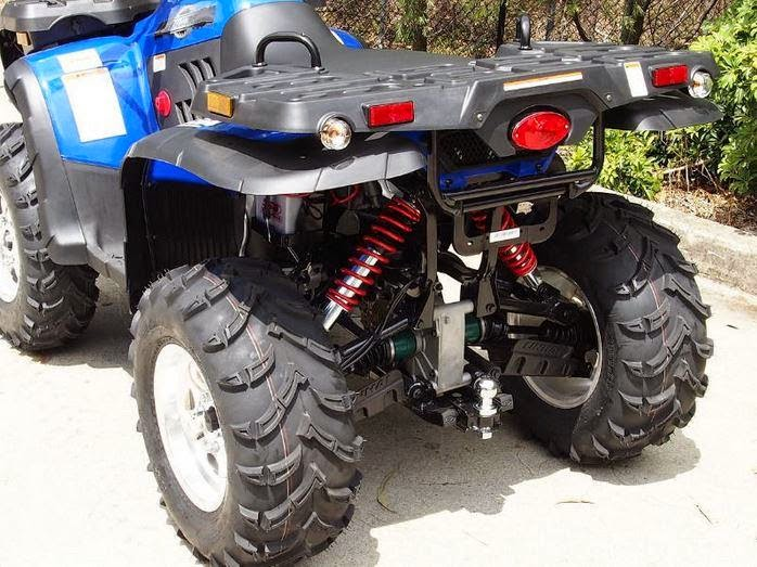 400 Linhai Yamaha ATV Farm 4x4 Quad Bike Blue