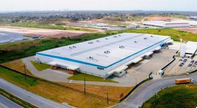 Amazon anuncia novo centro de distribuição no Cabo de Santo Agostinho; expectativa é gerar 860 empregos