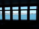 View towards the Long Beach harbor