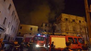 Incendie de la rue Adjissa Maamar: le ministre de l'intérieur se rend sur place