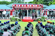 Kapolri Bersama Panglima TNI Beri Semangat Prajurit Yang Bertugas di Papua