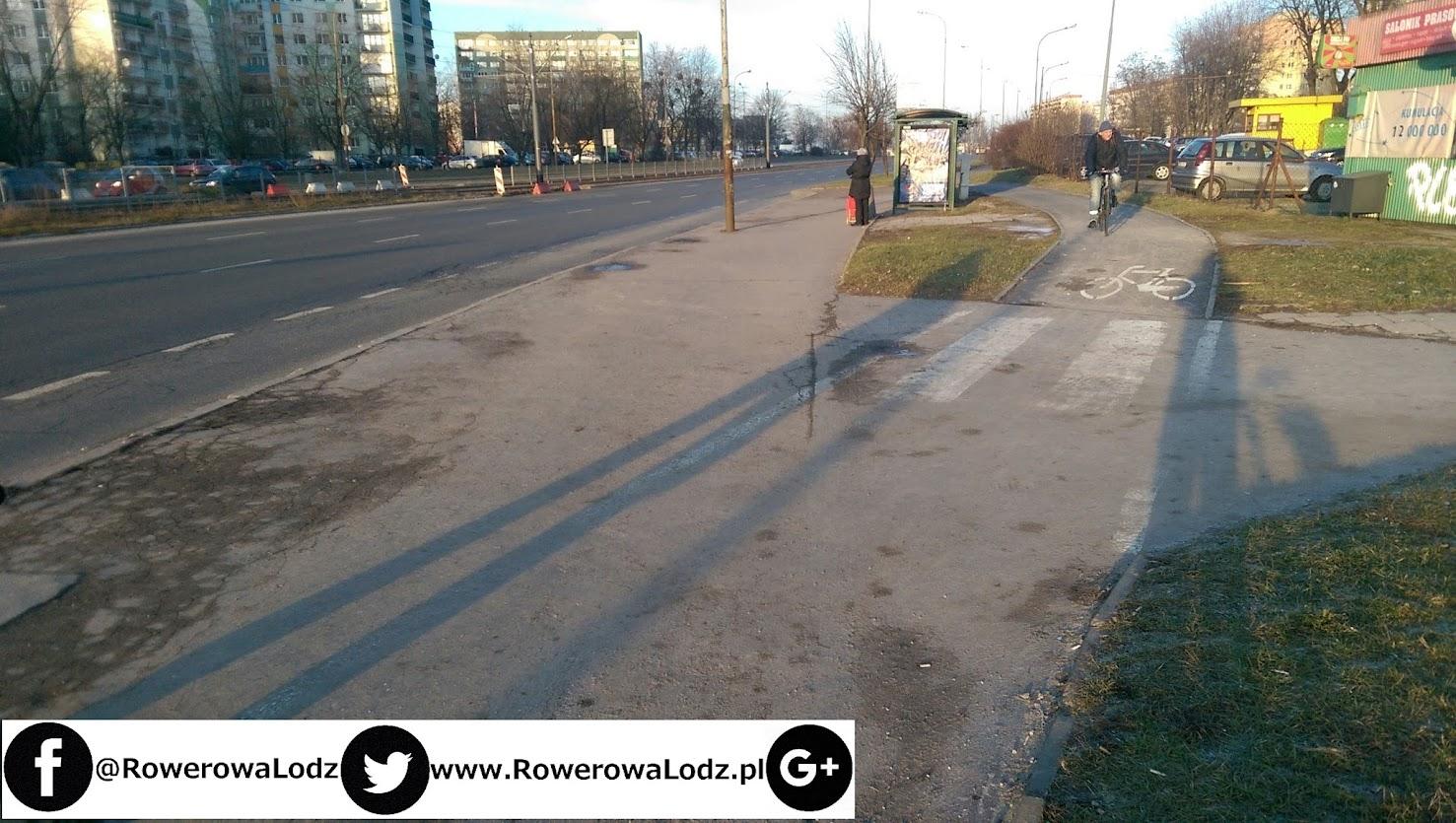 Która dalej omija przystanek autobusowy