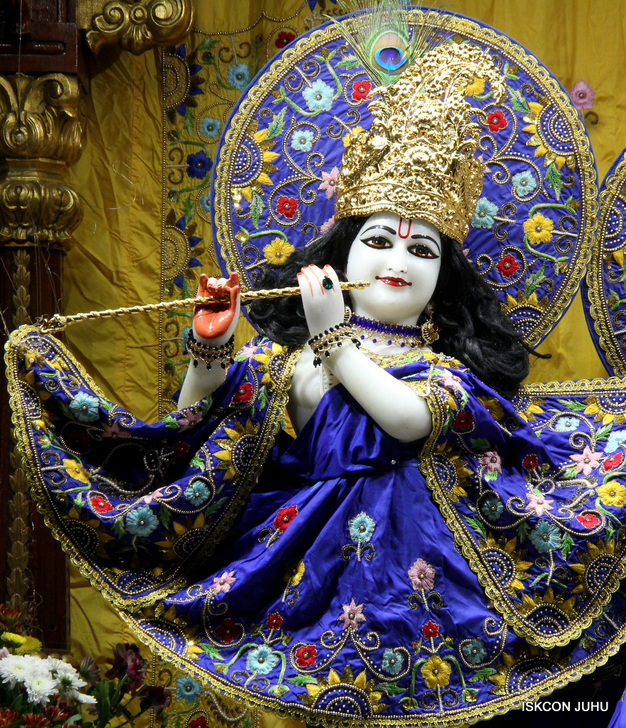 ISKCON Juhu Sringar Deity Darshan on 2nd Oct 2016 (17)