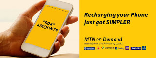 MTN On Demand Allows You Buy Airtime From Various Bank Accounts With A Single Code