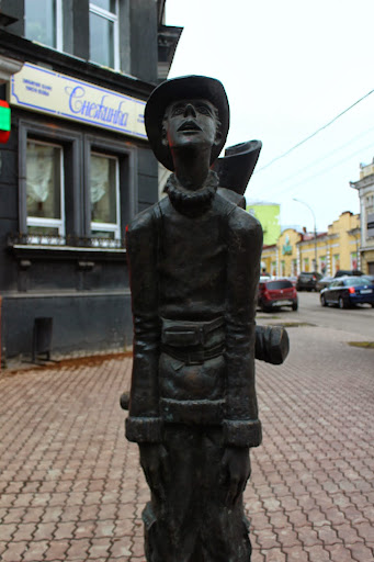 tired Statue irkutsk russia