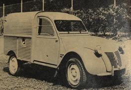 Citroen 1960 2 CV camionnette