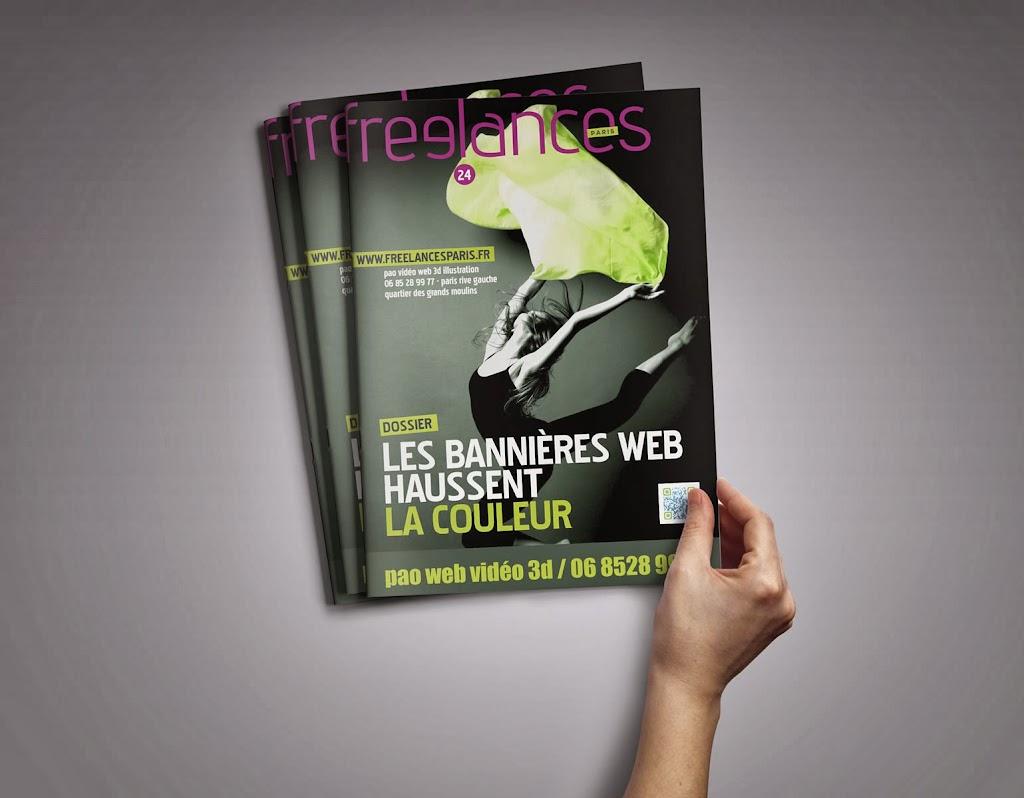 magazine Freelances WEB Les bannières haussent la couleur