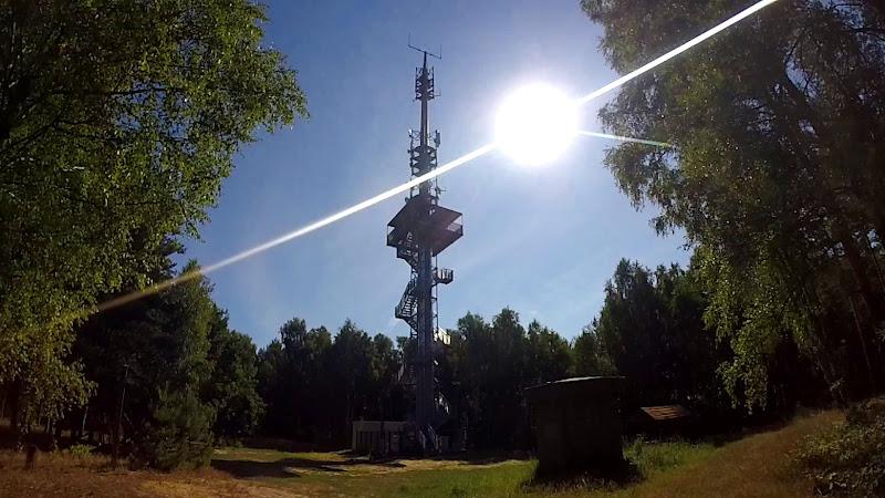 Der Aussichtsturm Wietkiekenberg