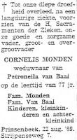 Monden, Cornelis Rouwadvertentie.jpg