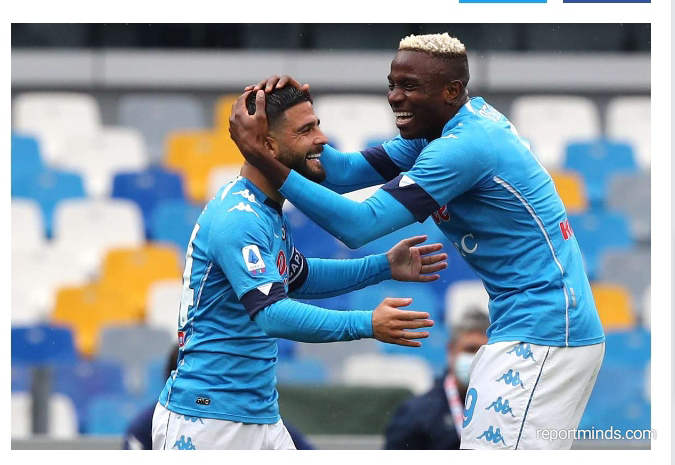 Serie A: Victor Osimhen scores as in Napoli's 2-0 victory against Sampdoria (Highlights) 2020-2021