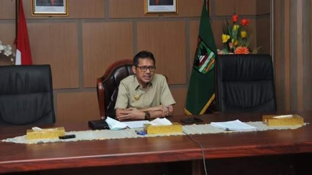 Foto: Gubernur Sumbar Irwan Prayitno. Nihil Kasus Positif, Hari Ini 11 Orang Warga Sumbar Dinyatakan Sembuh dari Covid-19.