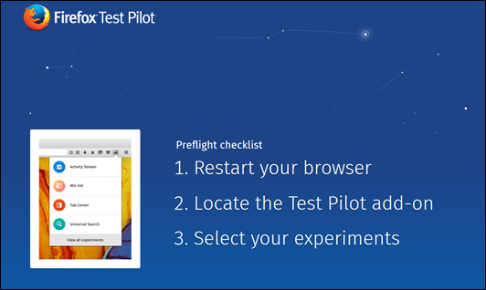 Ative o Test Pilot do Firefox e experimente as novas funcionalidades do navegador - Visual Dicas