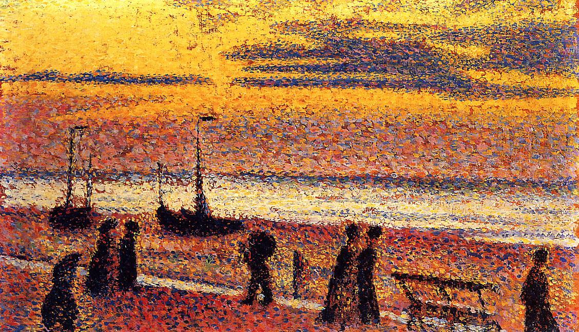 Georges Lemmen - Heyst No. 3, High Tide