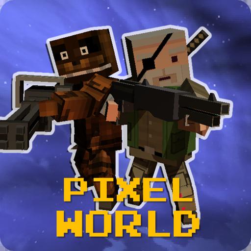 動作App|ピクセル Zワールド – サードパーティー・アクションゲーム LOGO-3C達人阿輝的APP