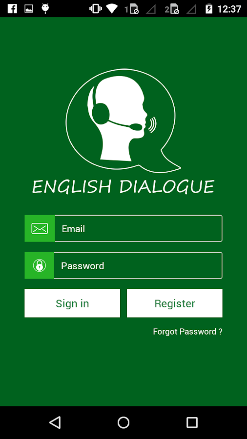 English Dialogue- screenshot