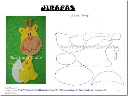 jirafas moldes eva (2)