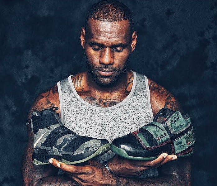 65ac6a60b000 LeBron James Debuts Camo Soldier 10 During China Trip ...