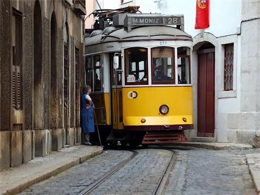 Достопримечательности Лиссабона Трамвай 28