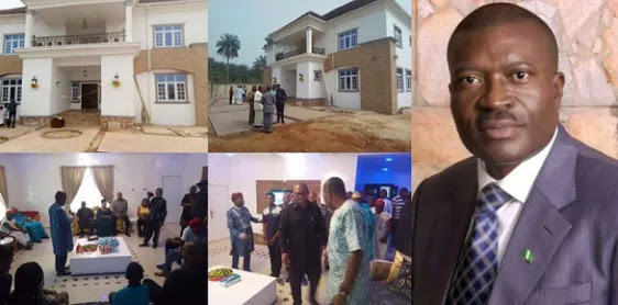 Photos: Nollywood Actor Kanayo O. Kanayo Opens His Multimillion Naira House In Imo State