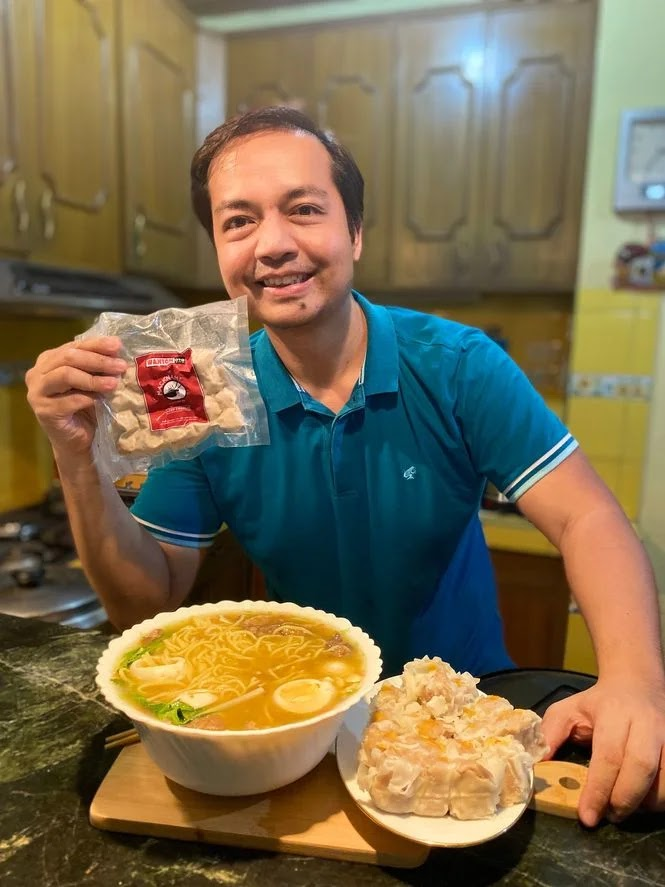 Trying Mack Nam's frozen food products