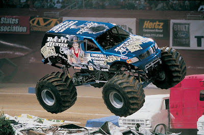 Monster Truck Jam Bounty Hunter